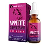 Appetite Suppressant for Women - Superior Weight Loss Formula - Powerful Natural Ingredients - Increase Energy - Boost Metabolic Rate - Pure Sciences - 60DAY