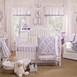 Petit Tresor Papillon 4 Piece Crib Bedding Set
