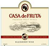 2015 Casa de Fruta Blackberry Wine 750 Ml