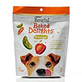 Beneful Baked Delights Dog Snacks – Snackers – Made With Peanut Butter & Cheese Flavors – Net Wt. 9.5 OZ (269 g) Each – Pack of 2 For Sale