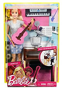Barbie Girls Music Blonde Activity Playset