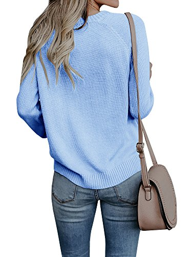 Valphsio Womens Sweaters Long Sleeve Cable Knit Love Heart Pullover for Her by Valphsio (Image #2)