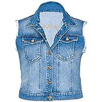 Colete Jeans Feminino [03550]