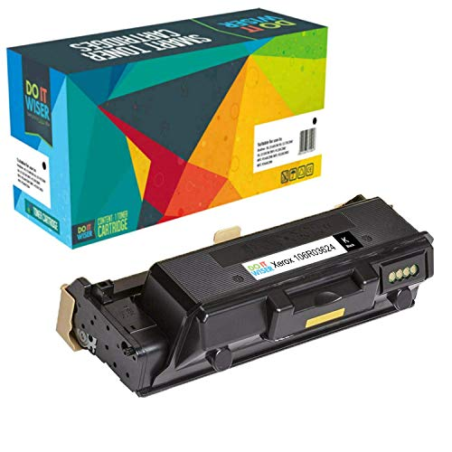 Do it Wiser Compatible Toner Cartridge Replacement for Xerox 106R03624 WorkCentre 3335 3345 Phaser 3330 Toner - 106R03623-15,000 Pages ()