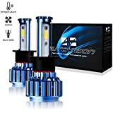 Automotive LED Headlight Bulbs H1 Cree LED Conversion Kit 6000k Cool White (Lifetime Replacement Warranty) H1