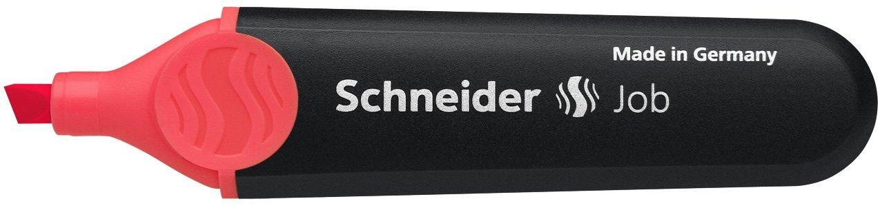 Schneider Job 150 Textmarker 10er Pack blau nachf/üllbar und lichtbest/ändig