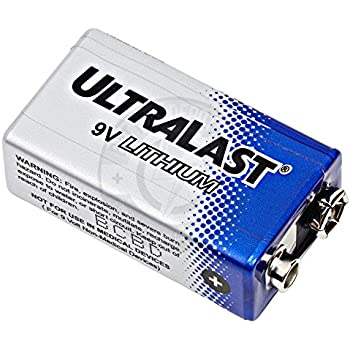 ultralife 9v lithium battery u9vl j aluminum housing electronics. Black Bedroom Furniture Sets. Home Design Ideas