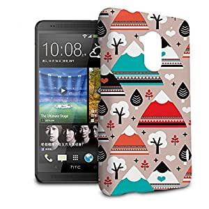 Phone Case For HTC One Max (T6) - South Western Mountain Ranges Designer Lightweight