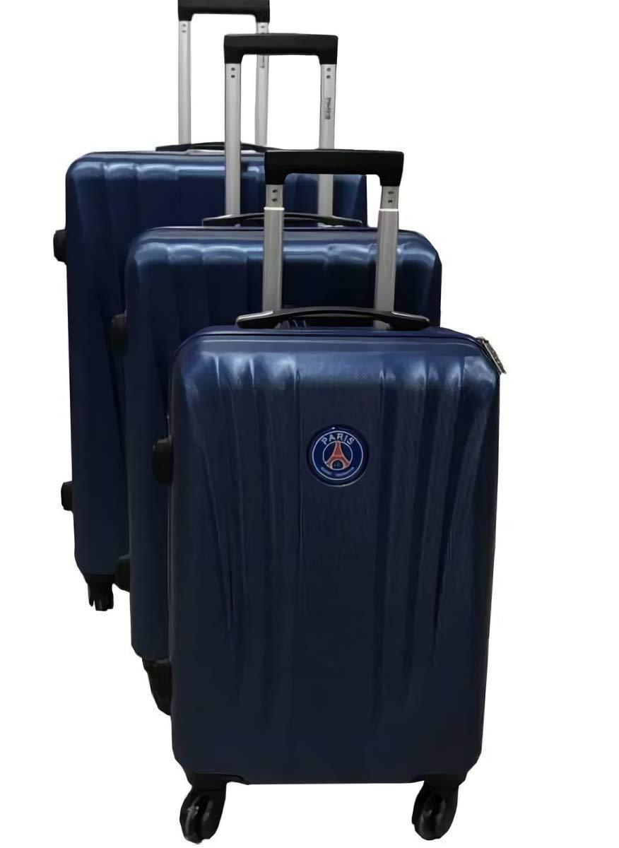 Rigide ABS PSG Set de 3 Valises Paris Saint-Germain