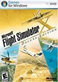 Microsoft Flight Simulator X Deluxe DVD