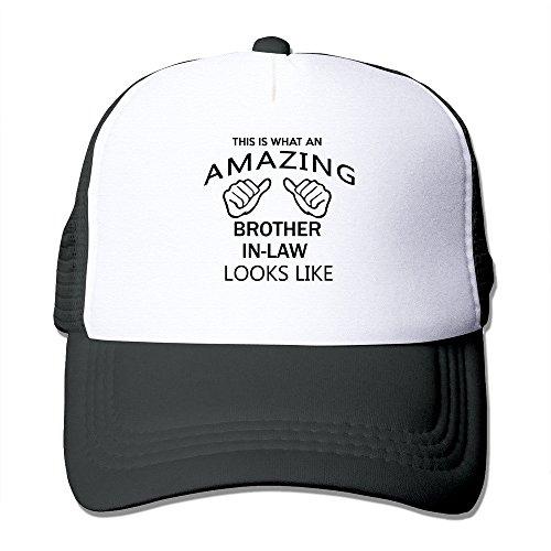 cap-d-factory-mens-cap-amazing-brother-in-law-classic-trucker-hat-black