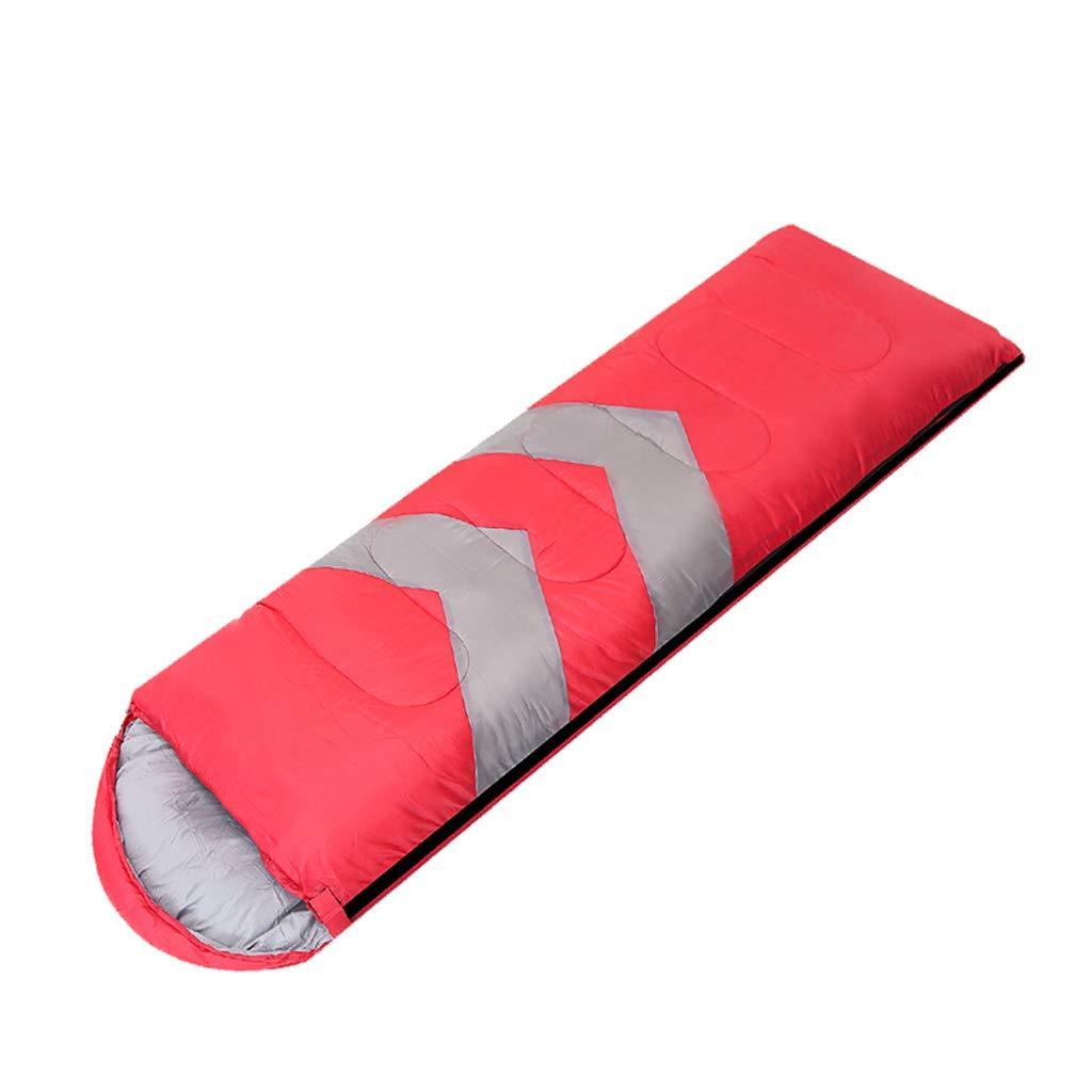 rouge C XHCP Sac de couchagePolyester mode Camping extérieur Pratique épaississeHommest Multifonctionnel pour Adultes (Capacité  B, Couleur  Bleu)