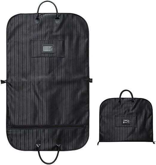 "Sturdy Zipper Centr Travel Storage 54/"" Suit Or Dress Black Garment Bag Storage"