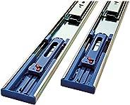 Corrediça de gaveta com rolamento esférico Liberty Hardware 941405, 35,5 cm, conjunto de 2