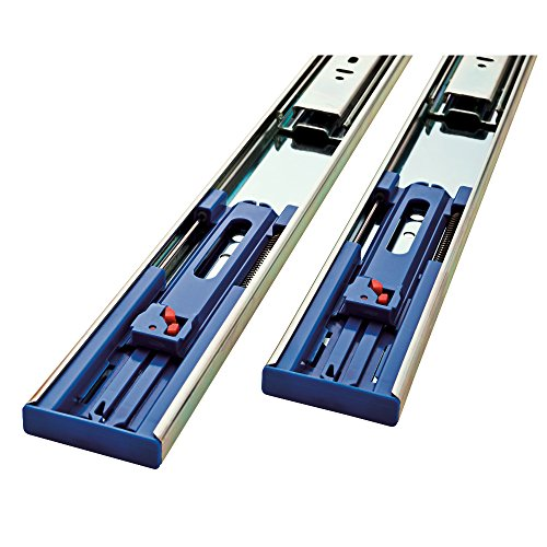- LIBERTY 942205 Pair of Soft-Close Ball Bearing Drawer Slide, 22-Inch
