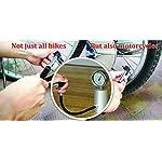Mini-Pompa-Bici-con-Kit-Riparazione-Gomme-Cerotto-per-Forature-Senza-Colla-Micro-Pompetta-Aria-Portatile-Progettata-per-Valvole-Schrader-Presta-Caere-dAria-Road-Palla-Completa-di-3-Leve