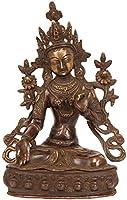 Goddess White Tara - Brass Statue