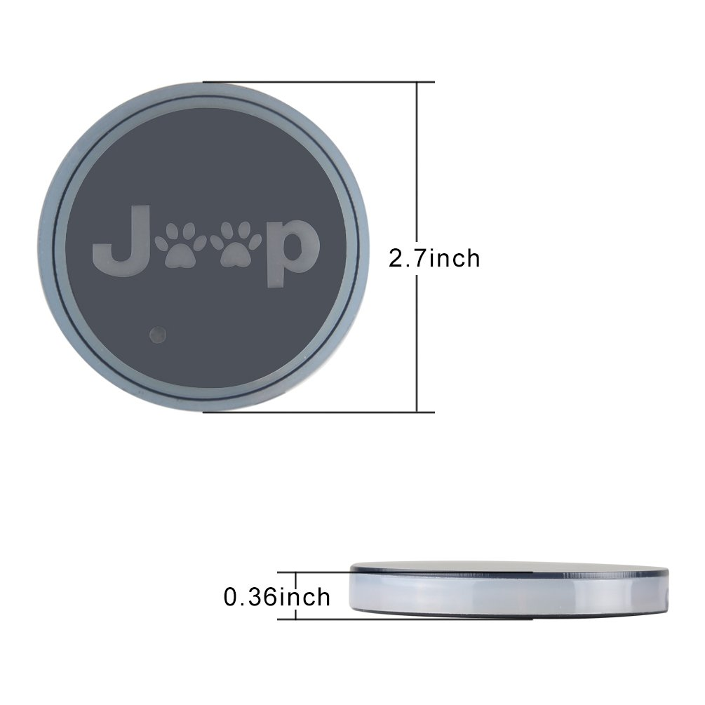 Anti-dust Non-Slip Interior Mats For Jeep Wrangler JL JLU 2018 2019 Cup Holder Gate Storage Slot Mats Pack of 14