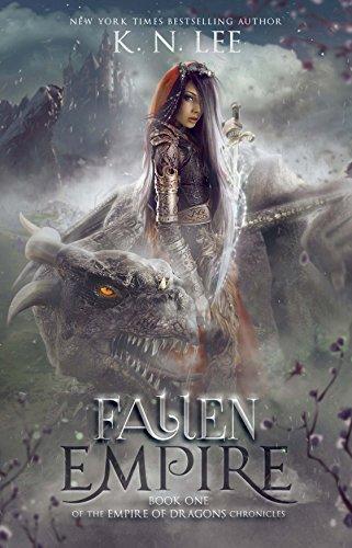 Fallen Empire: An Epic Dragon Fantasy Adventure (Empire of Dragons Chronicles Book 1) cover