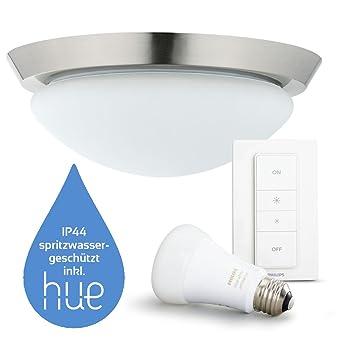 Moderne Badezimmerlampe/Badezimmerleuchte inkl. Philips Hue ...