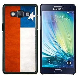 EJOOY---Cubierta de la caja de protección para la piel dura ** Samsung Galaxy A5 A5000 ** --Nacional bandera de la nación País Chile