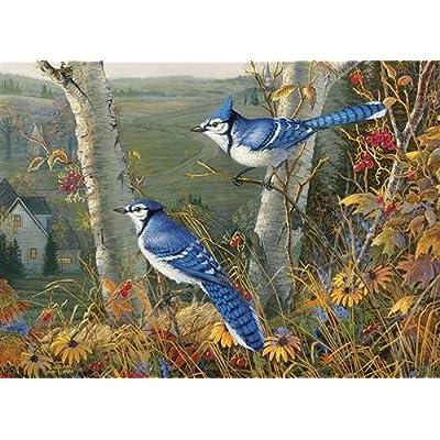Cobblehill 80021 1000 Pc Blue Jays Puzzle Vari