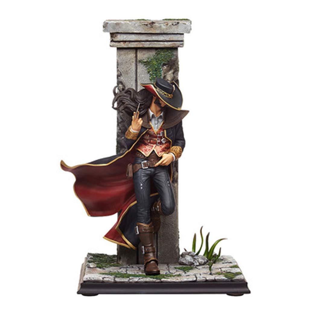 Yxsd LOL League of Legends Poker Masters - Männliche Statue Art Modell Familie Schreibtischdekoration Spielzeug Handwerk Wohnzimmer Dekorationen