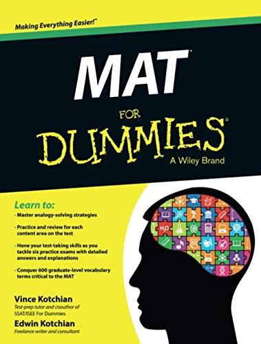 (MAT For Dummies)
