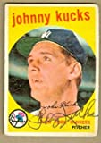 Autograph Warehouse 22625 Johnny Kucks Autographed Baseball Card New York Yankees 1959 Topps No. 289