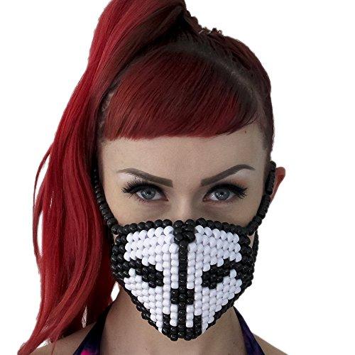 Skull Bones COD Call Of Duty Surgical Kandi Mask by Kandi Gear ()