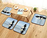 Leighhome Simple Modern Chair Cushions Zen Massage Hot Stones...