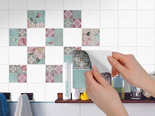 Adesivi piastrelle cucina pellicola di plastica in pvc sticker