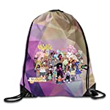 Creative Design Steven Universe Cartoon All Together Drawstring Backpack Sport Bag For Men And Women