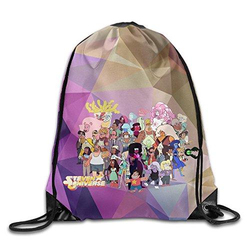 (Creative Design Steven Universe Cartoon All Together Drawstring Backpack Sport Bag For Men And)