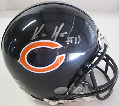 (Kevin White Chicago Bears, Signed, Autographed, Mini Helmet, a COA with the Proof Photo of Kevin Signing Will Be Included)