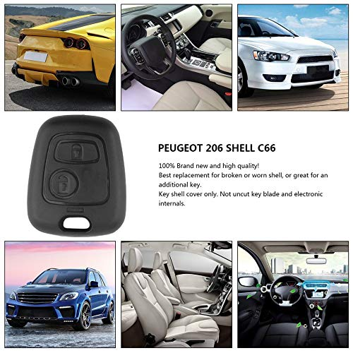 Amazon.com: Uncut Blade Car casa Replacement Key Case Shell ...