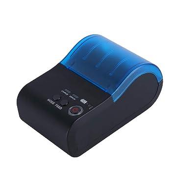 H&T Mini Impresora térmica portátil de Etiquetas Bluetooth ...