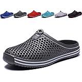 welltree Garden Shoes/Sandals Women Men Quick Drying Clogs/Slippers Walking Lightweight Rain Summer 11 Men/13 Women/Grey/45