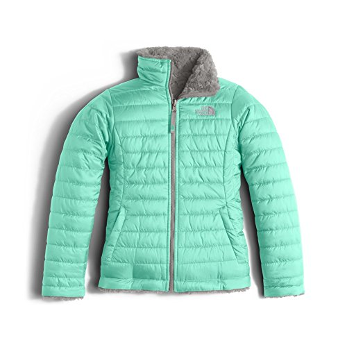 She Outdoor Apparel (The North Face Reversible Mossbud Swirl Jacket Girls' Ice Green)
