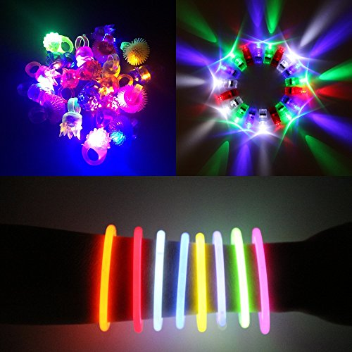Flashing Led Light Necklace - 2
