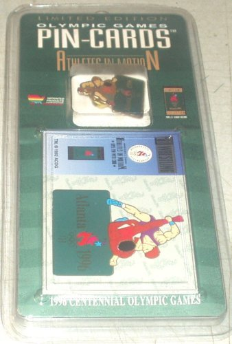 Olympic Games Pin - Wrestling Pin Olympic