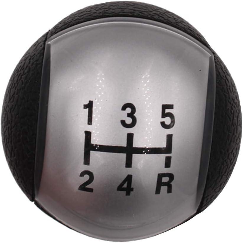 HZTWFC Pommeau de levier de vitesses de voiture /à 5 vitesses OEM #