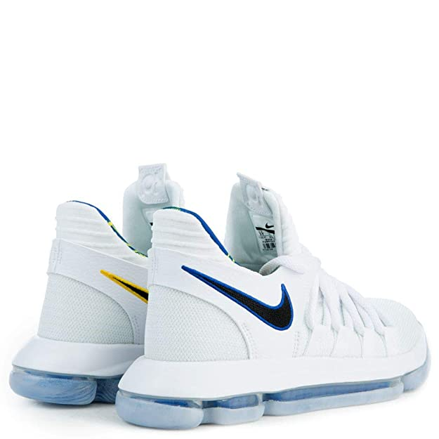 buy online 44d9f 77621 Amazon.com   Nike Mens Zoom Kd10 Low Top Lace Up Basketball, White Game  Royal, Size 14.0   Basketball