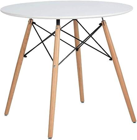 Zcx Table De Salle A Manger Ronde De Cuisine Petite Table Basse