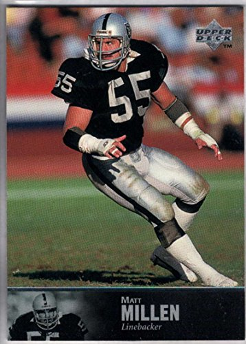Football NFL 1997 Upper Deck Legends #142 Matt Millen Raiders