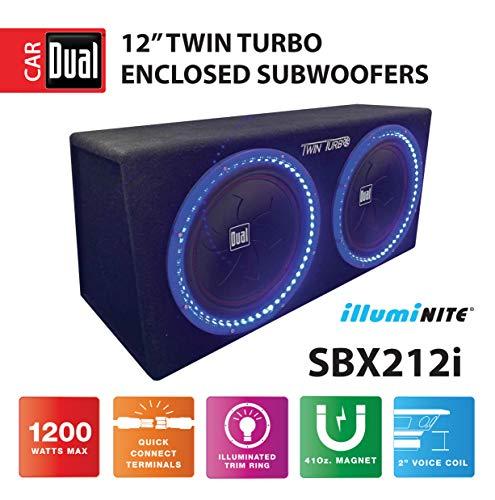 Dual Electronics SBX212i 12-inch