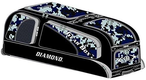 Diamond Gear Box Baseball Bag (38'' X 12'' X 15'') - NEW CAMO COLORS - Navy Camo by Diamond