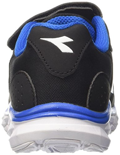 Diadora Hawk 8 Jr, Zapatillas de Running Para Niños Negro (Nero Jet/bianco)