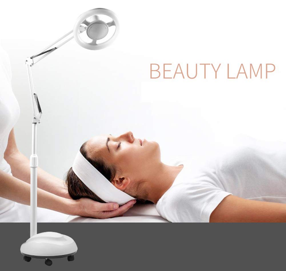 Gsaknc LED Kaltlicht Stehlampe,24W Arbeitsplatzlampe Kosmetiklampe Kosmetikleuchte