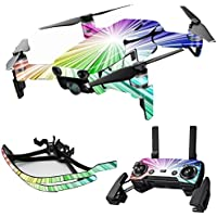 MightySkins Skin for DJI Mavic Air Drone - Rainbow Explosion | Max Combo Protective, Durable, and Unique Vinyl Decal wrap cover | Easy To Apply, Remove, and Change Styles | Made in the USA